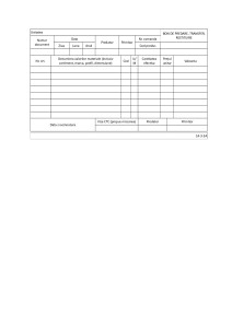 Bon de predare, transfer, restituire (cod 14-3-3A): model si utilizare