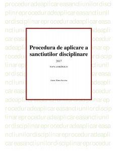 PROCEDURA DISCIPLINARA